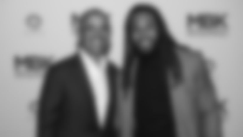Walter Payton Man of the Year Nominee Richard Sherman