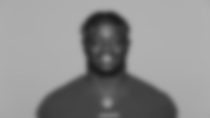 This is a 2021 photo of Samson Ebukam of the San Francisco 49ers NFL football team. This image reflects the 49ers active roster as of Day, May 20, 2021 when this image was taken. (AP Photo)