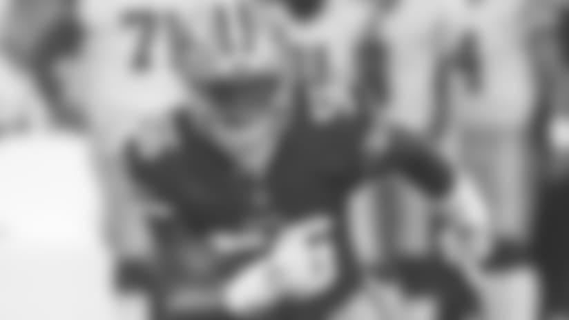 2018 San Francisco 49ers Season:Dallas Cowboys vs San Francisco 49ersPreseason Week 1Thursday, August 9, 2018Santa Clara, CAPlayer (##) during preseason NFL football game(49ers Photo)