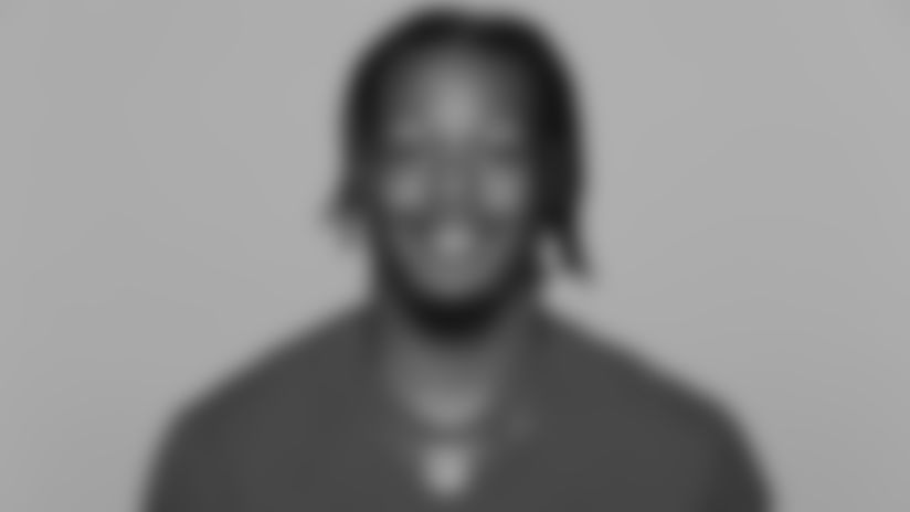 This is a 2021 photo of Daeshon Hall of the San Francisco 49ers NFL football team. This image reflects the 49ers active roster as of Day, May 20, 2021 when this image was taken. (AP Photo)