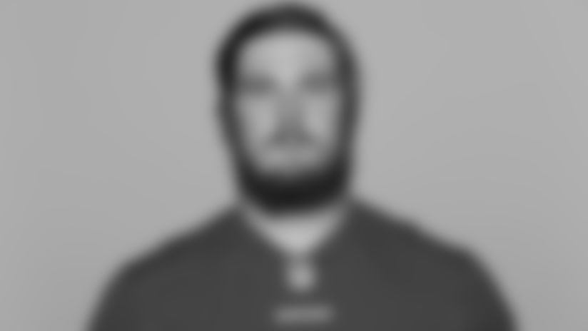 This is a 2021 photo of Colton McKivitz of the San Francisco 49ers NFL football team. This image reflects the 49ers active roster as of Day, May 20, 2021 when this image was taken. (AP Photo)