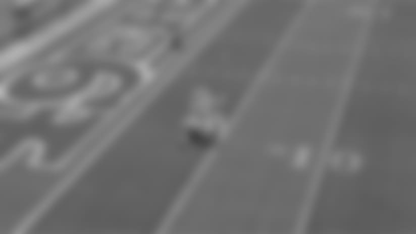 Intel True View: Jaquiski Tartt's Acrobatic Interception vs. Panthers