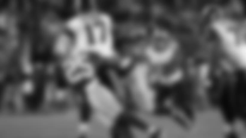 Sept. 12, 2016 - 49ers defensive back Jimmie Ward and defensive lineman DeForest Buckner.