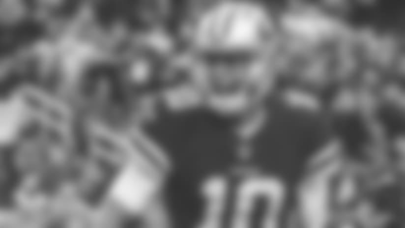 December 24, 2017:  The San Francisco 49ers vs Jacksonville Jaguars. The 49ers beat the Jaguars 44-33 at Levi's Stadium in Santa Clara, CA. (Photo © 49ers 2017) (49ers Photo)