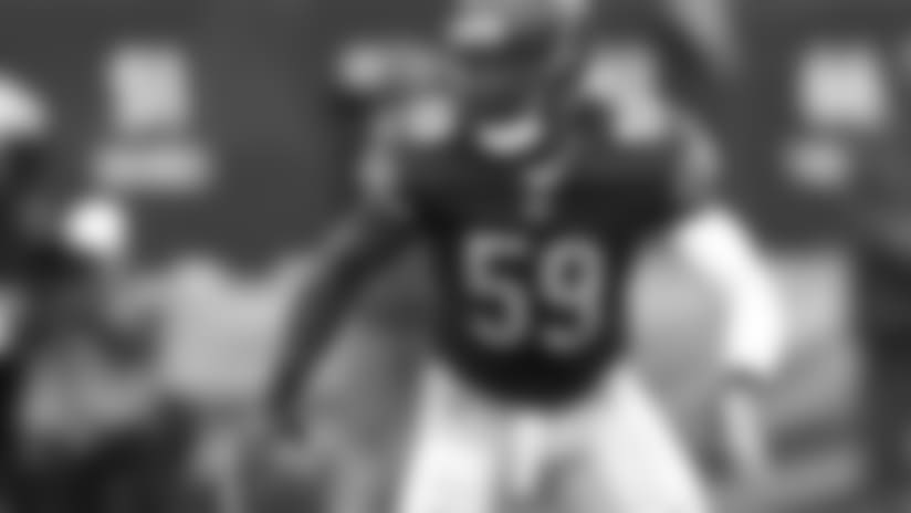 Trevathan back practicing without restrictions