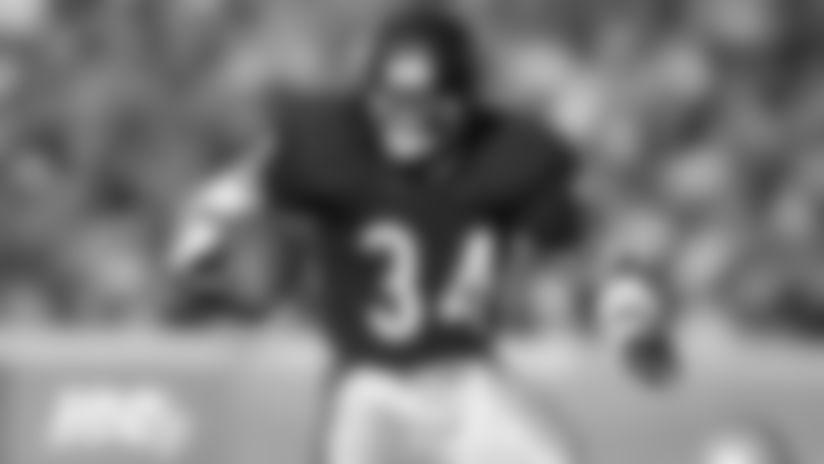 1\. Walter Payton, RB  1975-87