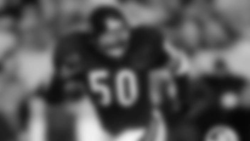 The Hall of Fame middle linebacker was voted to a Bears-record 10 Pro Bowls and was a two-time NFL Defensive Player of the Year.