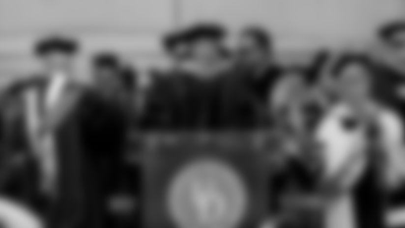 Nagy delivers commencement speech to Delaware graduates