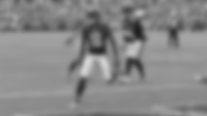 Two QBs behind center on TD pass to Gabriel