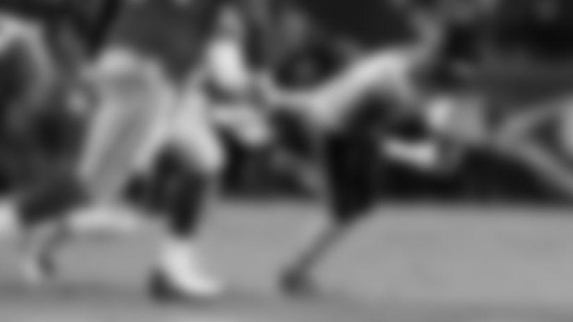 Jackson rips ball free, Clinton-Dix recovers