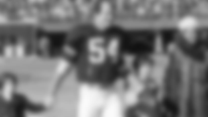Bob Johnson, C  Bengals 1st Round Pick  1968 NFL/AFL Draft