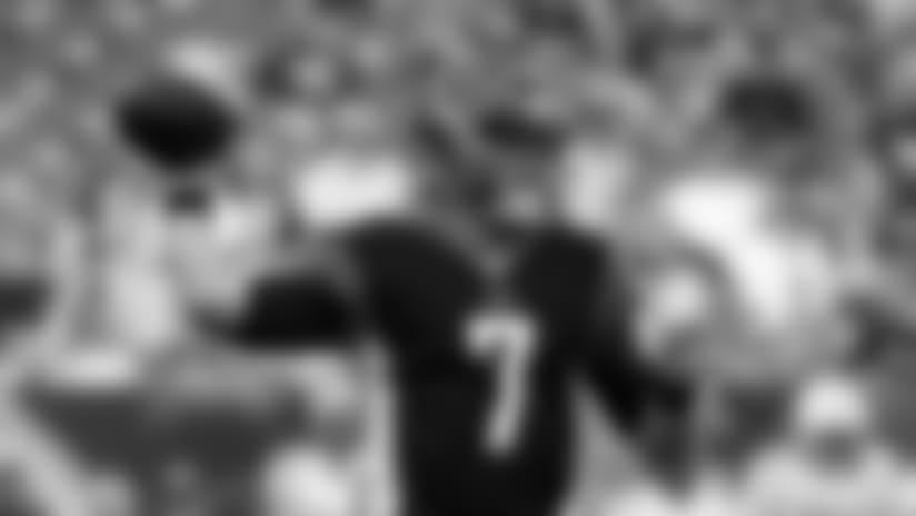 Cincinnati Bengals quarterback Matt Barkley throws during the first half of the team's NFL preseason football game against the Indianapolis Colts, Thursday, Aug. 30, 2018, in Cincinnati. (AP Photo/Frank Victores)