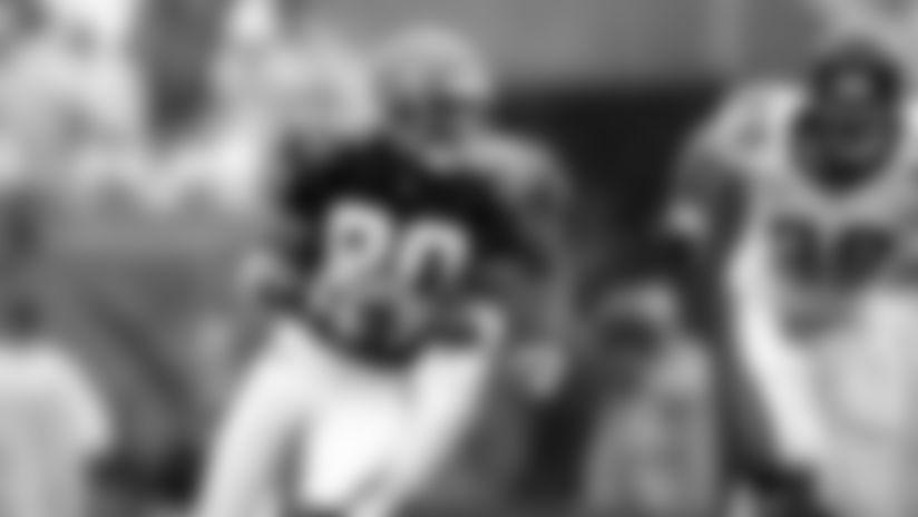 Cincinnati Bengals wide receiver Peter Warrick (80) is seen in action during an NFL game against the Jacksonville Jaguars, Sunday, Sept. 17, 2000, in Jacksonville, Fla. (Allen Kee via AP)