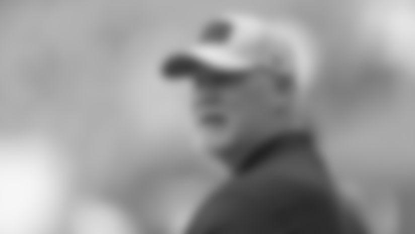Frank Pollack returns as offensive line coach.