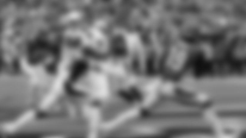 Auden Tate's first NFL TD catch.