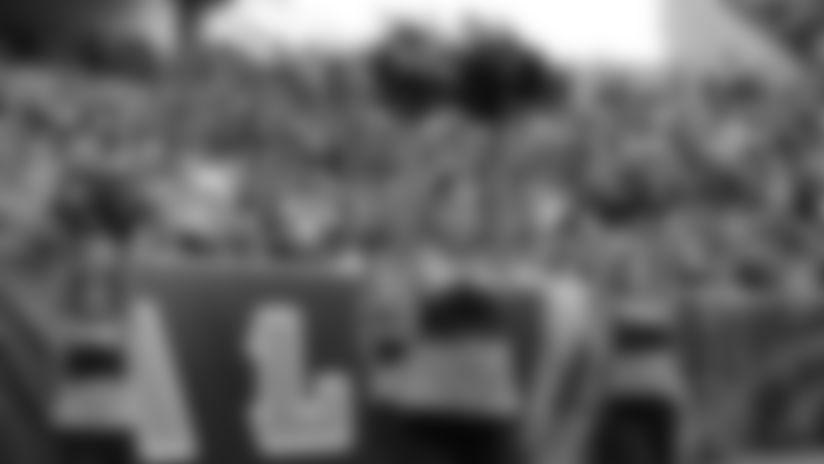 Ben-Gal Cheerleaders - Eagles at Bengals