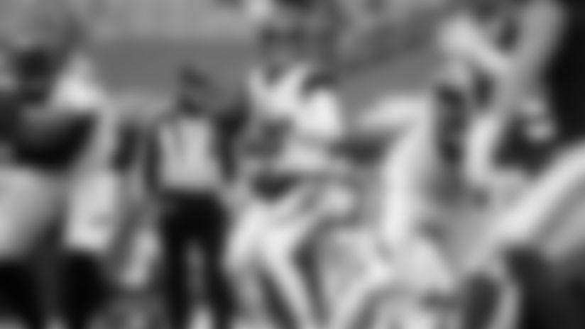 Brandon Allen in his Bengals debut.