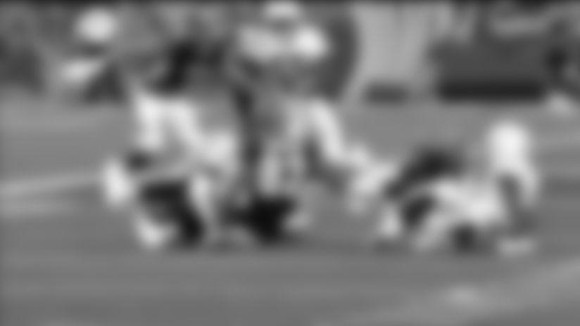 Long snapper Dan Godsil recovers Colts muffed punt