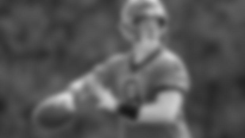 Joe Burrow goes through drills at Bengals Training Camp