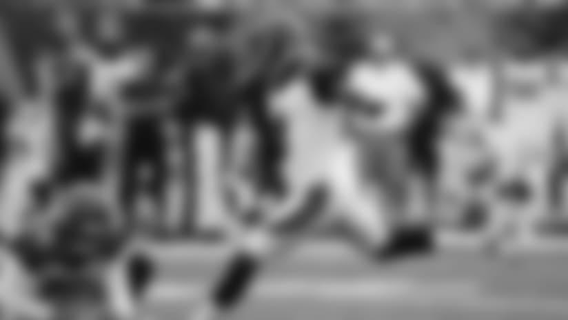 Cincinnati Bengals kicker Jon Brown (3) kicks an extra point alongside punter Kevin Huber (10) in the first half of an NFL preseason football game against the Chicago Bears, Thursday, Aug. 9, 2018, in Cincinnati. (AP Photo/Gary Landers)