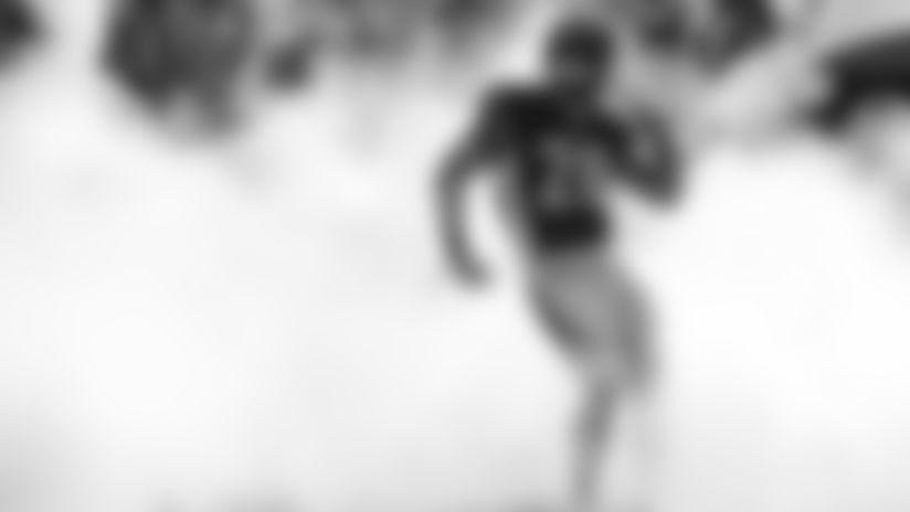 Cincinnati Bengals running back Joe Mixon takes the field before an NFL football game against the Jacksonville Jaguars, Sunday, Oct. 20, 2019, in Cincinnati. (AP Photo/Frank Victores)