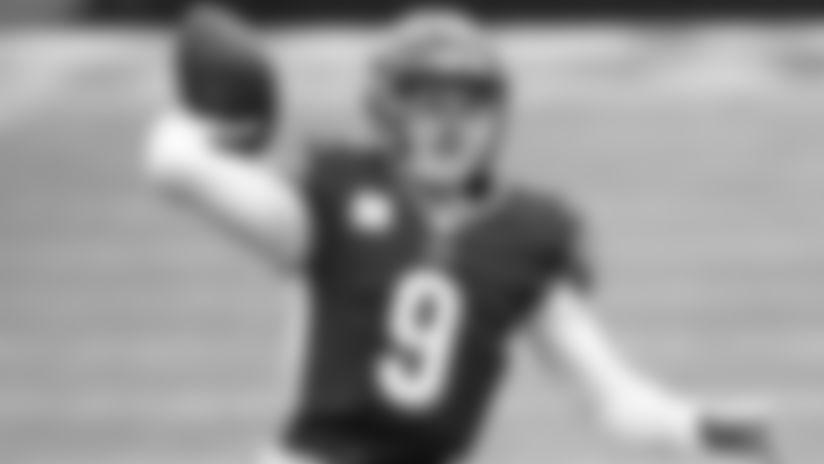 Bengals quarterback Joe Burrow's five 300-yard passing games have already tied the Bengals single-season record.