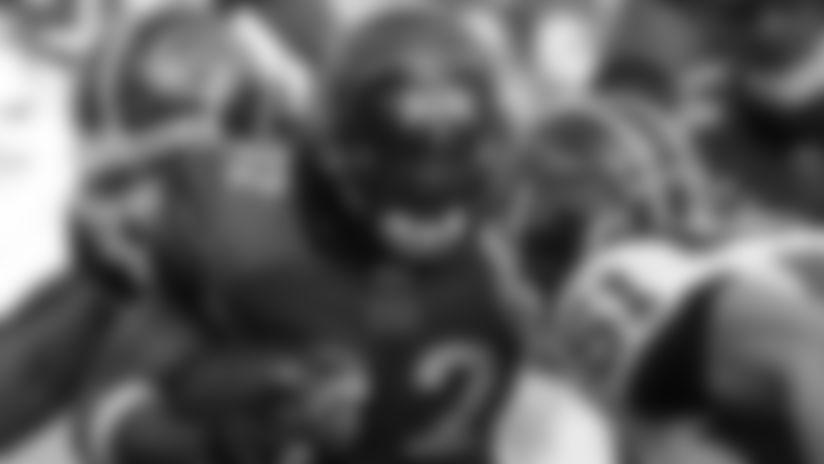 Cedric Benson vs. the Bills: run the ball, play defense and the sky's the limit.