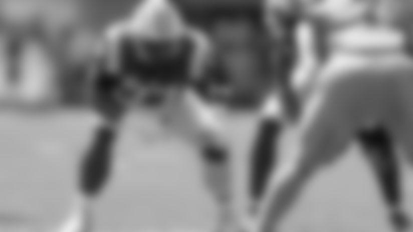LSU offensive tackle Saahdiq Charles (77) plays against Vanderbilt in the first half of an NCAA college football game Saturday, Sept. 21, 2019, in Nashville, Tenn. (AP Photo/Mark Humphrey)