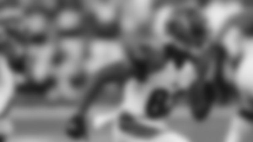 Tyler Boyd runs a route against the Minnesota Vikings in a 2016 preseason game.