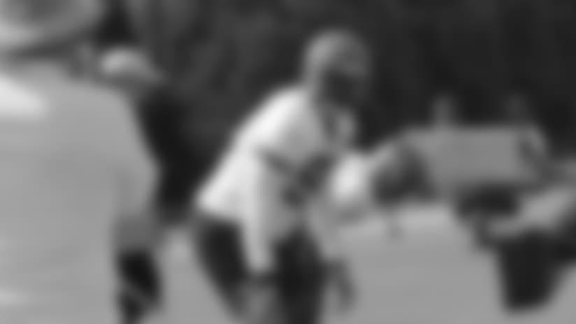 Adolphus Washington made his Bengals debut Sunday.