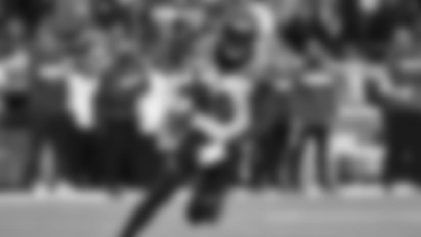Shawn Williams got his second interception of the season.