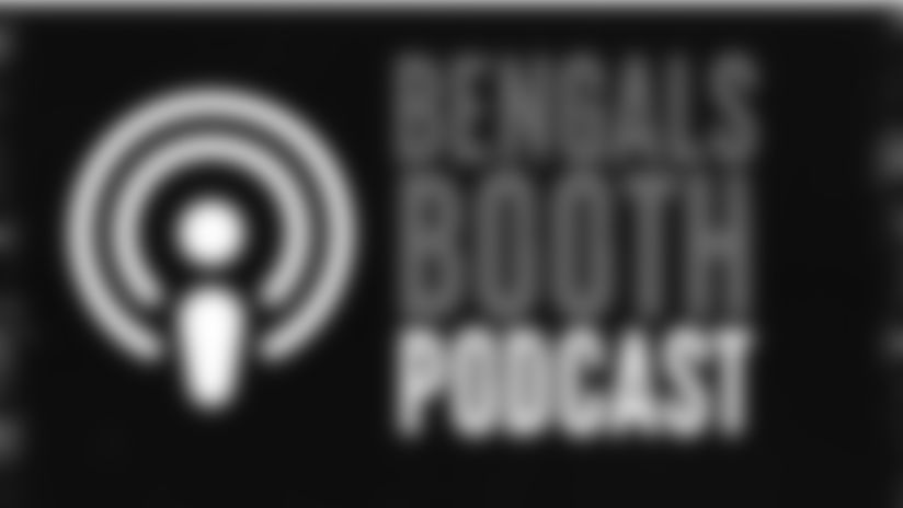 "It's the ""Gratitude"" edition of the Bengals Booth Podcast as Dan Hoard and Dave Lapham discuss the latest Bengals news and look ahead to Sunday. Interviews also with tight end C.J. Uzomah and Giants beat reporter Jordan Raanan."