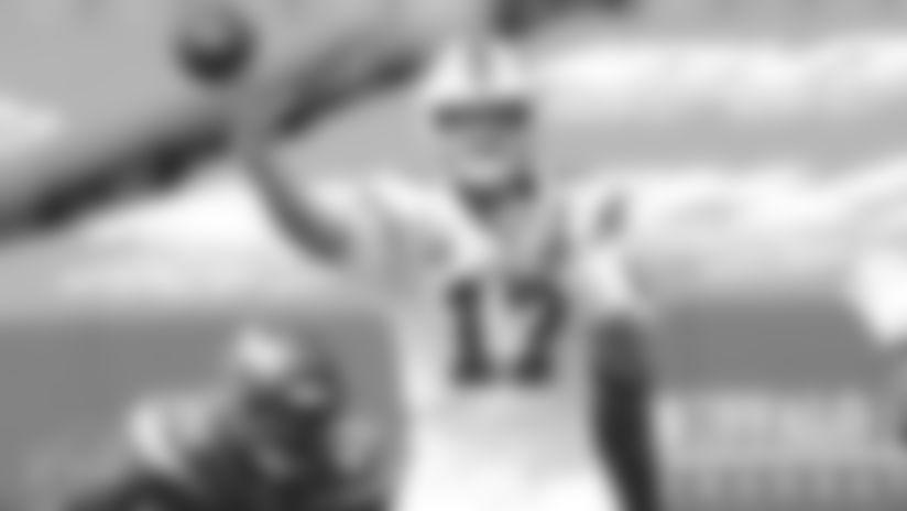 Josh Allen (17) Buffalo Bills vs New York Jets, September 13, 2020 at Bills Stadium. Photo by Bill Wippert