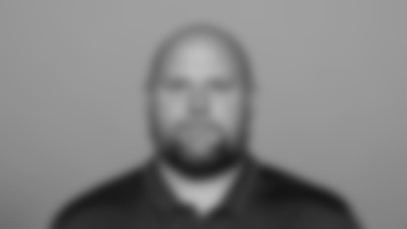 MAY 9, 2018, Orchard Park, NY: This is a 2018 photo of Brian Daboll, Offensive Coordinator of the Buffalo Bills NFL football team.  This image reflects the Bills active roster as of 5/9/18 when this image was taken.  (AP Photo)