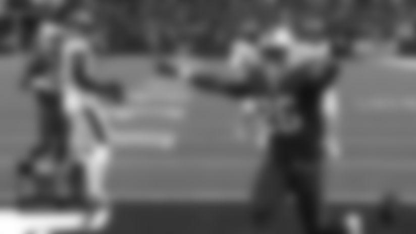 Devin Singletary turns Josh Allen's third-down throw into elusive TD