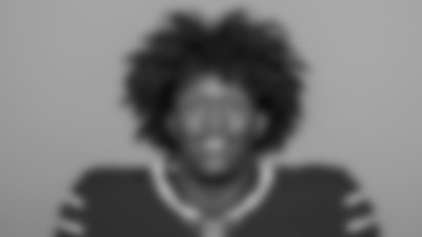 MAY 10, 2018, Orchard Park, NY: This is a 2018 photo of               Ray Ray McCloud III of the Buffalo Bills NFL football team.  This image reflects the Bills active roster as of 5/9/18 when this image was taken.  (AP Photo)