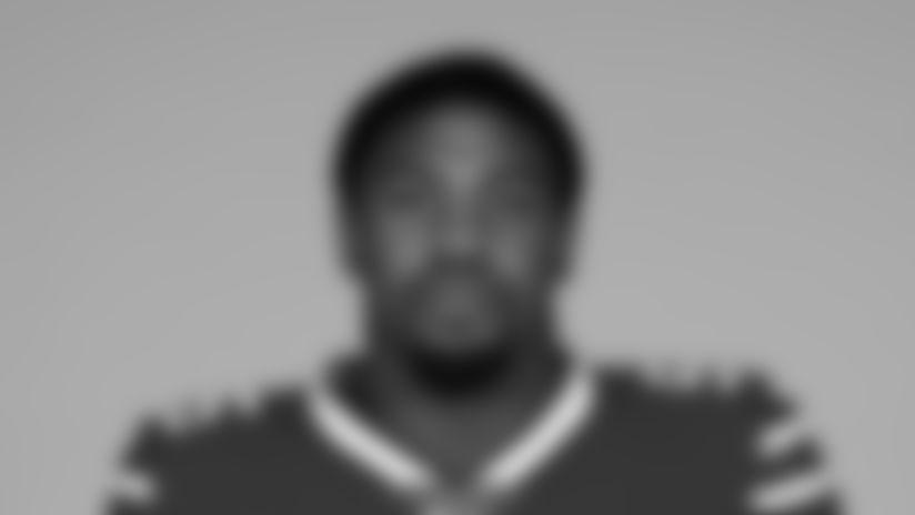 Jerry Hughes  - Buffalo Bills, May 8, 2019.Photo by Craig Melvin/Buffalo Bills