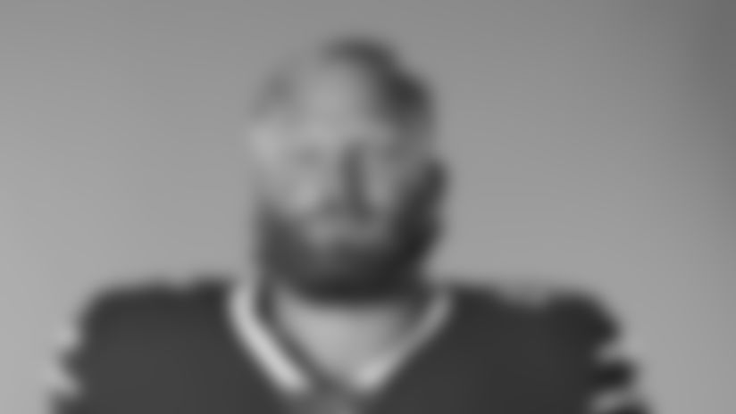 This is a 2020 photo of Tyler Matakevich of the Buffalo Bills NFL football team. This image reflects the Buffalo Bills active roster as of August 1, 2020 when this image was taken.  (AP Photo)