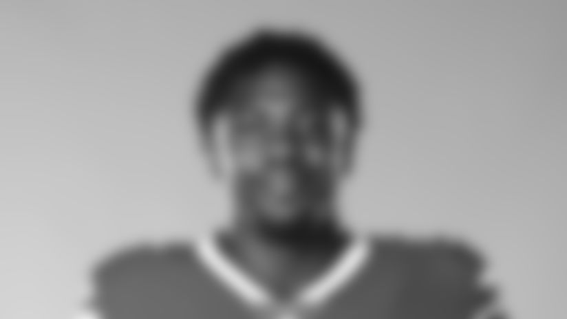 This is a 2020 photo of Jerry Hughes of the Buffalo Bills NFL football team. This image reflects the Buffalo Bills active roster as of July 28, 2020 when this image was taken.  (AP Photo)