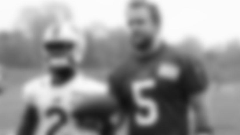 Former teammates in Arizona, QB Matt Barkley and WR John Brown are reunited in Buffalo.