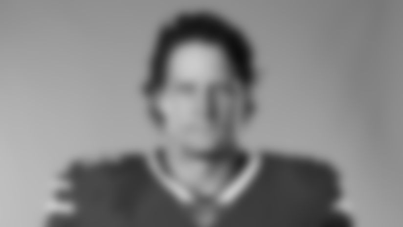 This is a 2020 photo of A.J. Klein of the Buffalo Bills NFL football team. This image reflects the Buffalo Bills active roster as of August 1, 2020 when this image was taken.  (AP Photo)