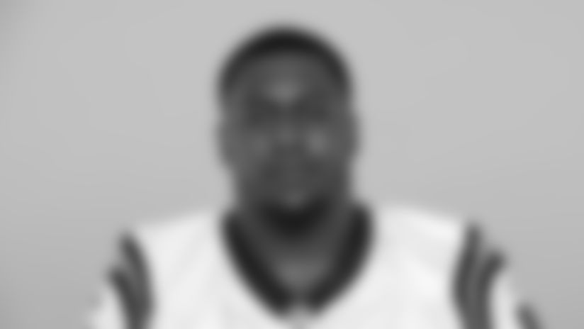 This is a 2019 photo of Bryan Cox Jr. of the Carolina Panthers NFL football team. This image reflects the Carolina Panthers active roster as of Tuesday, May 21, 2019 when this image was taken. (AP Photo)