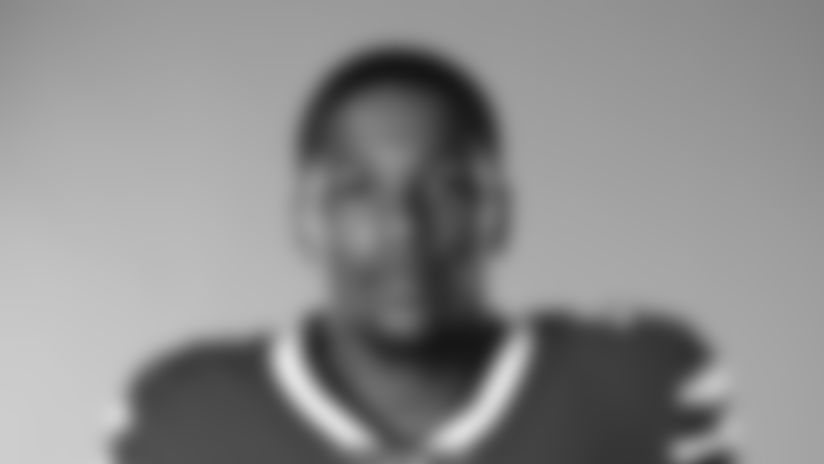 This is a 2020 photo of Cam Lewis of the Buffalo Bills NFL football team. This image reflects the Buffalo Bills active roster as of July 26, 2020 when this image was taken.  (AP Photo)