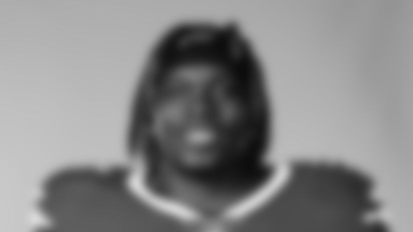 This is a 2020 photo of Vernon Butler of the Buffalo Bills NFL football team. This image reflects the Buffalo Bills active roster as of August 1, 2020 when this image was taken.  (AP Photo)