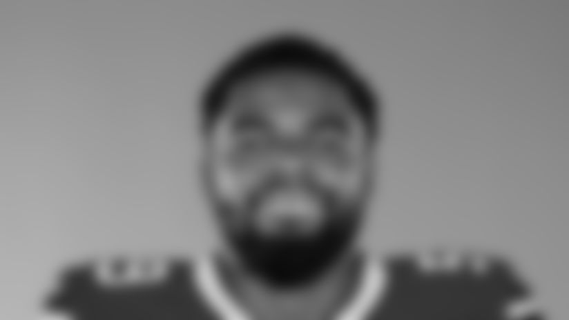 This is a 2017 photo of  John Miller of the NFL Buffalo Bills football team. This image reflects the Bills active roster as of May 17,  when this image was taken. (AP Photo)