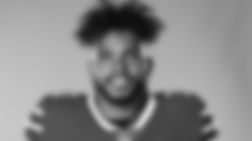 This is a 2020 photo of Dean Marlowe of the Buffalo Bills NFL football team. This image reflects the Buffalo Bills active roster as of August 1, 2020 when this image was taken.  (AP Photo)