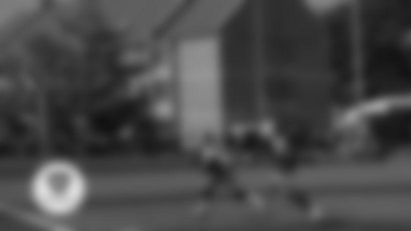 Camp Highlight: Josh Allen to John Brown Catch