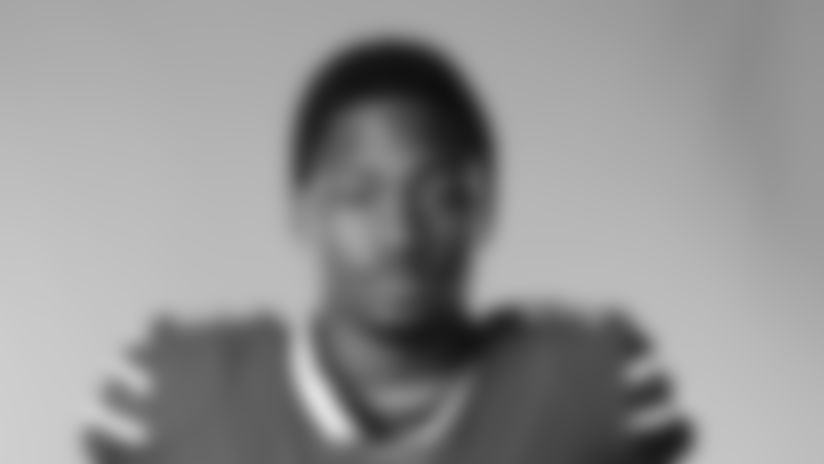 This is a 2020 photo of Stefon Diggs of the Buffalo Bills NFL football team. This image reflects the Buffalo Bills active roster as of August 1, 2020 when this image was taken.  (AP Photo)
