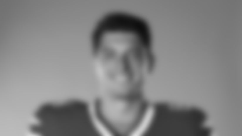This is a 2020 photo of Nate Becker of the Buffalo Bills NFL football team. This image reflects the Buffalo Bills active roster as of July 26, 2020 when this image was taken.  (AP Photo)