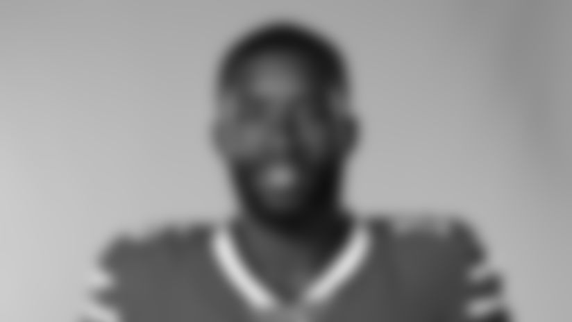 This is a 2020 photo of John Brown of the Buffalo Bills NFL football team. This image reflects the Buffalo Bills active roster as of August 1, 2020 when this image was taken.  (AP Photo)